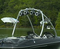 MTE Universal Wakeboard  Tower Rear Angle