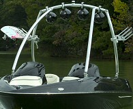 MTE Universal Wakeboard Tower-Front Angle